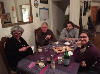 Dinner with Ann & Tom Dean, Alvaro and Lady Katie Mosher