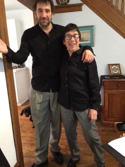 Rabbi Goldberg and Alvaro - Twins!